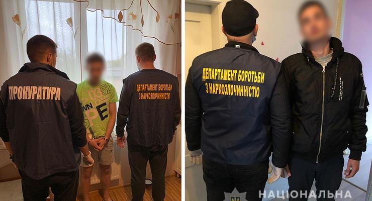На Львовщине полиция накрыла сеть интернет-магазинов наркотиков