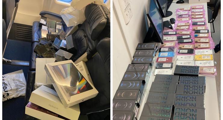 Возили iPhone как мусор: ГПСУ разоблачила бортпроводников-контрабандистов
