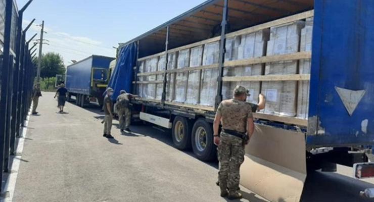 """Красный Крест отправил 37 тонн гигиенических наборов в """"ЛДНР"""""""