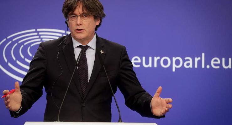 В Италии освободили лидера каталонских сепаратистов Пучдемона