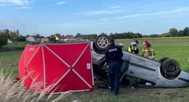 В Польше в ДТП погиб украинец