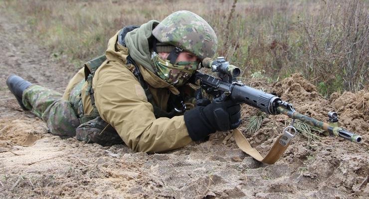 На Донбассе боевики стреляли 8 раз за сутки и получили ответный огонь