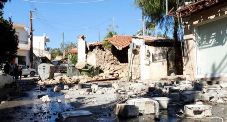 На Крите произошло еще одно сильное землетрясение