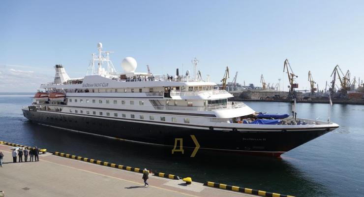 В Одессу впервые за два года зашел круизный лайнер