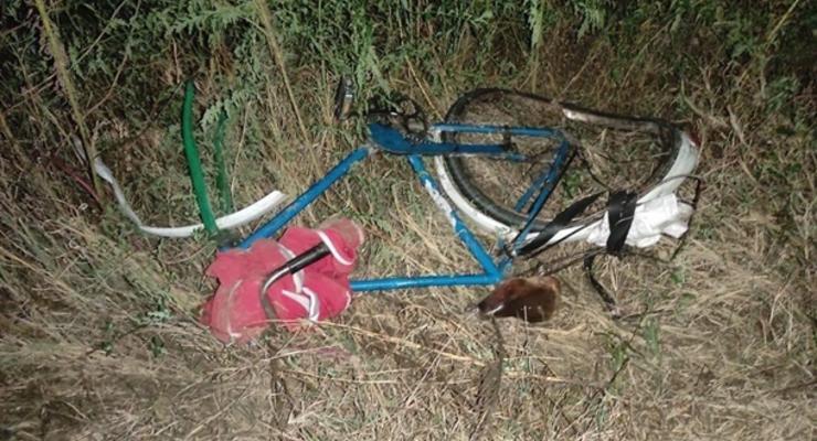 В Херсонской области грузовик сбил велосипедиста
