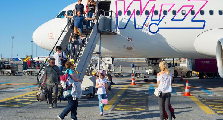 Wizz Air запустит 26 новых авиарейсов из 4 городов Украины