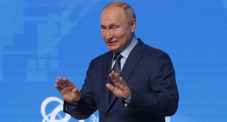 Путин заявил об угрозе прекращения транзита газа в ЕС через Украину