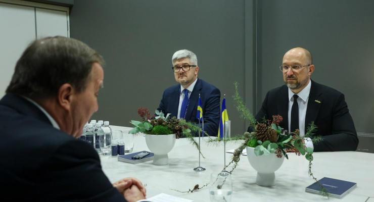 Шмыгаль сообщил о результатах поездки в Швецию