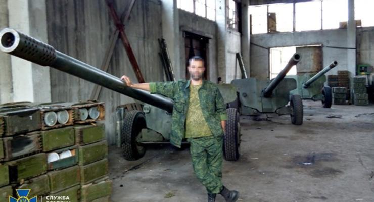 СБУ допросила задержанного на Донбассе сепаратиста