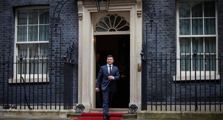 Запланирован визит Зеленского в Британию